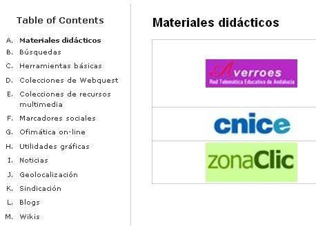 RECURSOS E FERRAMENTAS DE INTERESE EDUCATIVO (WEB 2.0)